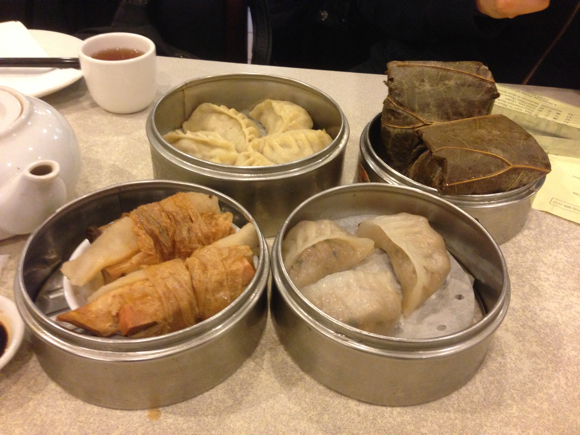 Eating Vegetarian in Chinatown, NYC: Buddha Bodai Restaurant